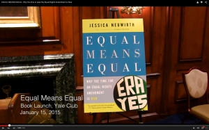 Equal Means Equal Book Launch